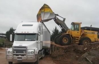 loading trailer